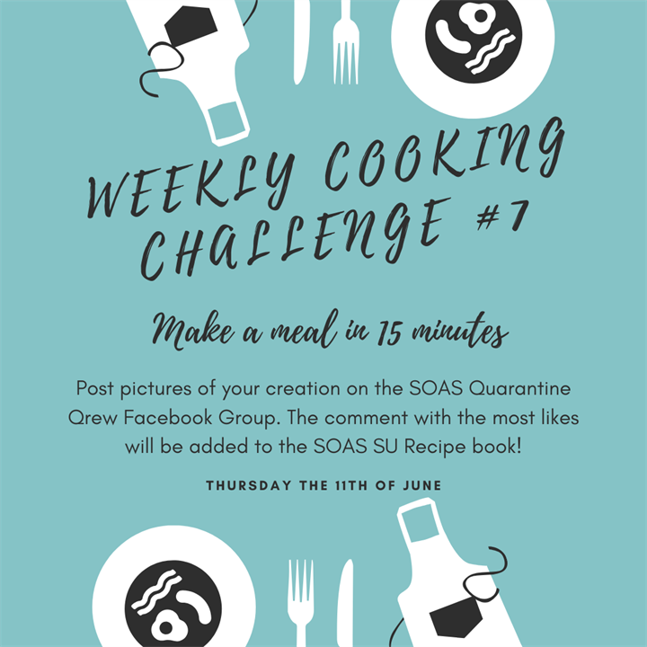 Weekly Cooking Challenge #7: Make a Meal in 15 minutes