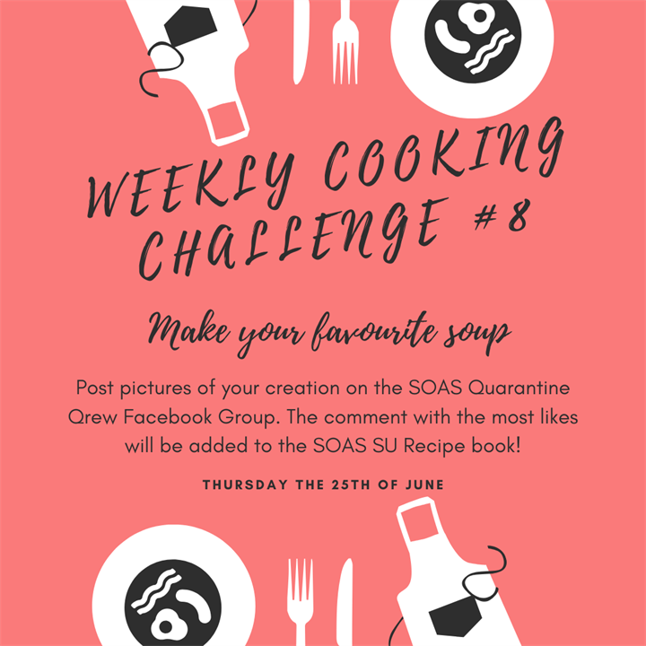 Weekly Cooking Challenge: Make your favourite soup