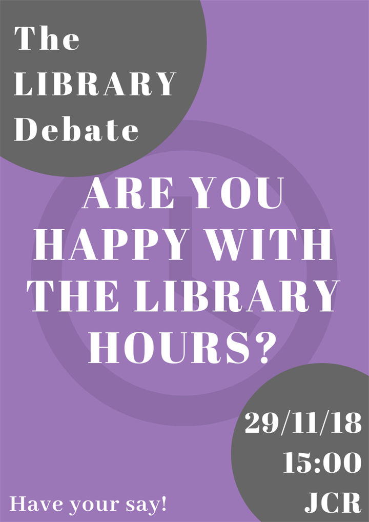 The Library Debate